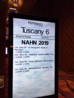 NAHN signage